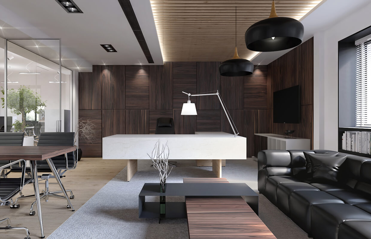 COLOR PLAY FOR OFFICE INTERIORS